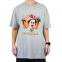 Camiseta Masculina DGK World Is Yours Mescla Claro