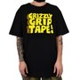 Camiseta Masculina Grizzly Nostalgic Preto