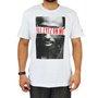 Camiseta Masculina New Era Tupac Foto Branco