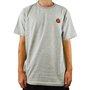 Camiseta Santa Cruz Classic Dot Bottom Mescla Claro
