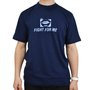 Camiseta Mess Fight Azul Marinho