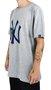 Camiseta New Era MLB Neuw York Yankees Logo Mescla Claro