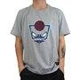 Camiseta New Era Play Charlotte Hornets Mescla Claro