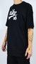 Camiseta Nike SB Logo White Preto