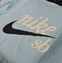Camiseta Nike SB Skateboarding Verde Claro