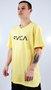 Camiseta RVCA Big Logo Amarelo