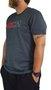 Camiseta RVCA Divider Mescla Escuro