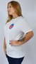 Camiseta RVCA Luchador Branco