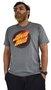 Camiseta Santa Cruz Flaming Dot Front Mescla Escuro