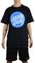 Camiseta Santa Cruz Reverse Dot Preto