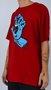 Camiseta Santa Cruz Screaming Hand Vermelho