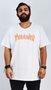 Camiseta Thrasher Flame Halftone Branco