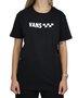 Camiseta Vans Brand Striper Preto