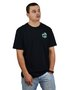 Camiseta Vans Mini Dual Palm III Preto