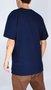 Camiseta Vans Retro Oval SS Azul Marinho