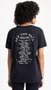 Camiseta Vans Road Burn Preto