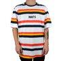 Camiseta Wats Lifestyle Branco/Laranja