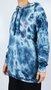 Moletom Canguru Billabong Quad Tie Dye Azul