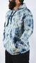 Moletom Canguru Element Deep Sea Tie Dye Azul Marinho