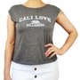 Regata Feminina Billabong Bear Love Mescla Escuro