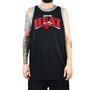 Regata Masculina New Era Miami Heat Preto