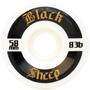 Roda Black Sheep Skate 83B 58mm Branco/Preto