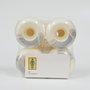 Roda Girl National Hero 53mm Branco/Prata