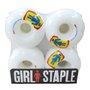 Roda Girl The Girl Skateboard Co. 52mm Branco