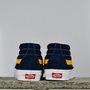 Tênis Vans Sk8-Mid Azul/Branco/Amarelo